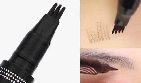 毛並みを描けるアイブロウペンシル